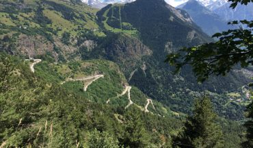 21 switchbacks of Alpe d'Huez