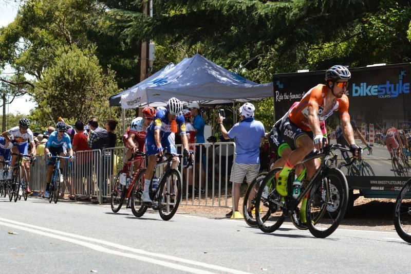 Old Willunga Hill VIP Santos Tour Down Under