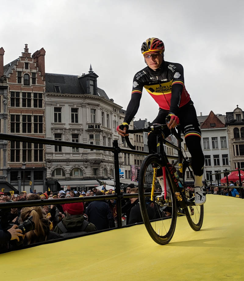 Tour of Flanders start in Antwerp