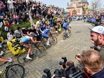 Tour of Flanders cobbles