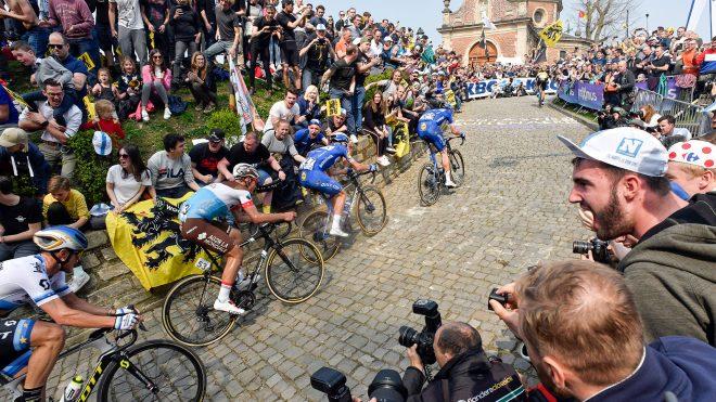 Tour of Flanders cobbles