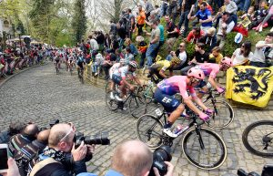 Tour of Flanders cobbles climb