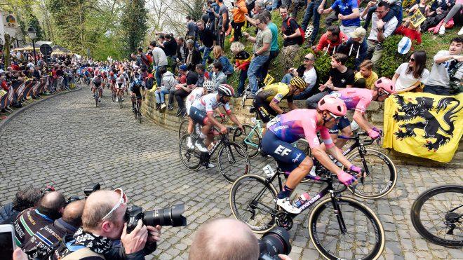 Tour of Flanders cobbles climb