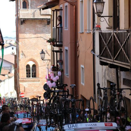 Italian villages and giro d'Italia