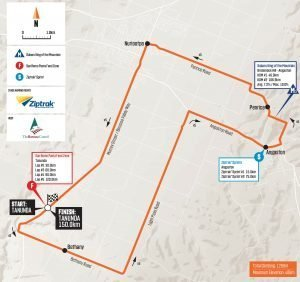 2020 tour down under stage 1 map