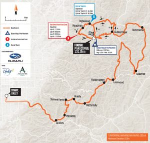 2020 tour down under stage 3 map