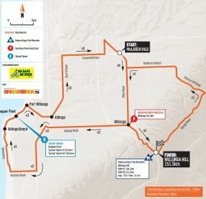 2020 tour down under stage 6 map