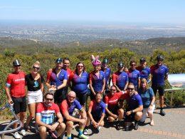 Australia Bike Tour Exploring Adelaide Hills at Santos Tour Down Under