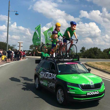 Tour caravane tour de france bike tour