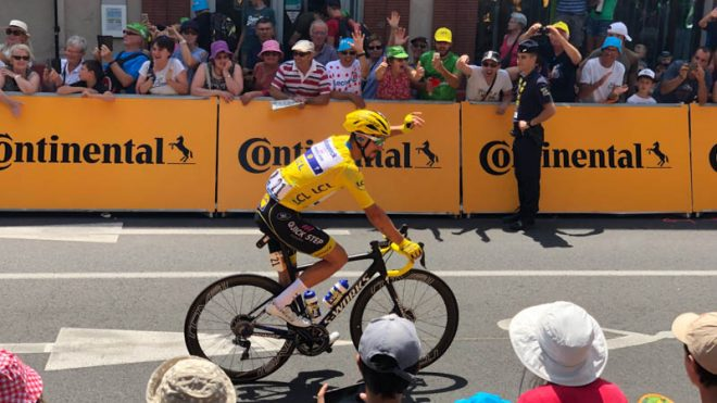 yellow jersey tour de france