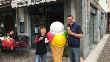 Italian Gelato Italy Bike Tour