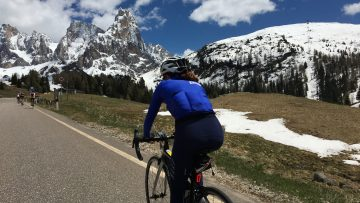 Sella Towers Italy Bike Tour