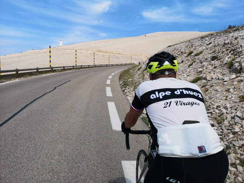 Opening stages of Tour de France and Climb Mont Ventoux