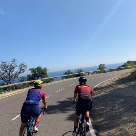 girona training rides costa brava