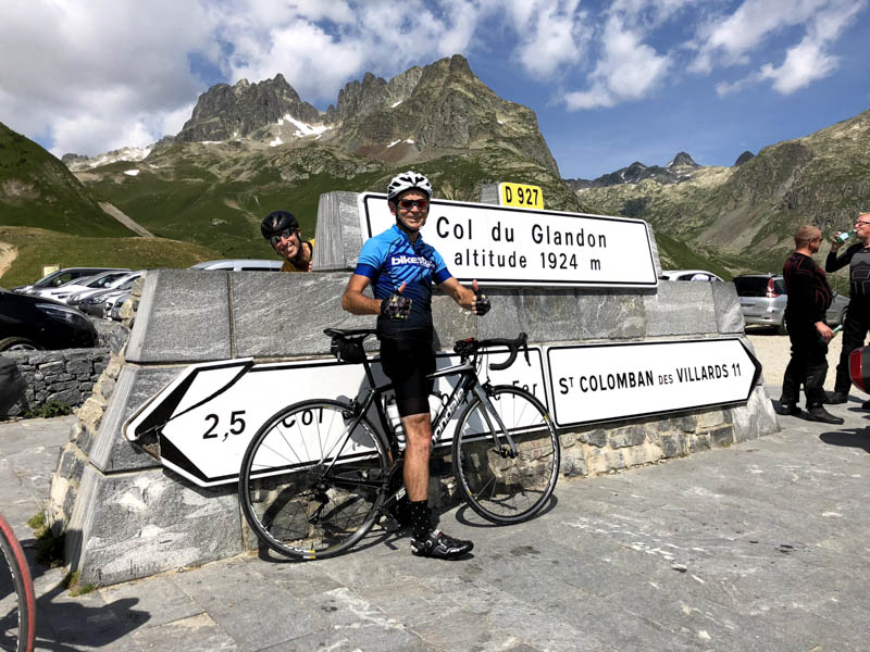 col du glandon french alps climb