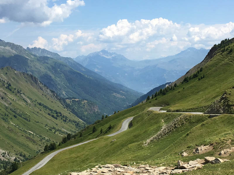 French alps climb tour de france Grandes alpes route