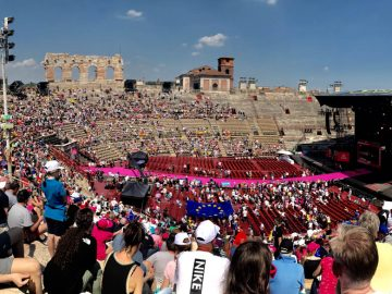 verona arena giro bike tour