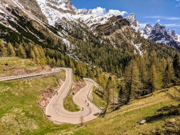 2020 Giro bike tour ride dolomites
