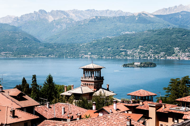 Italy bike tour Lake orta