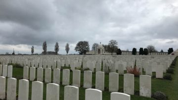 Tyne cot commonwealth war graves