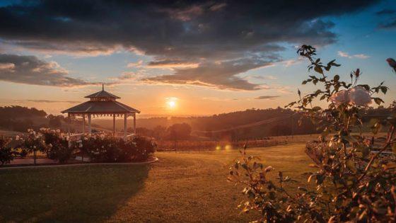Ferguson Farmstay sunset