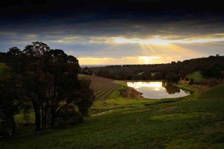 Sunset Darling Ranges