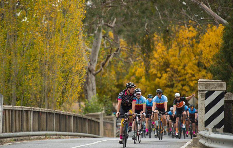 Autumn colours South Australia cycling