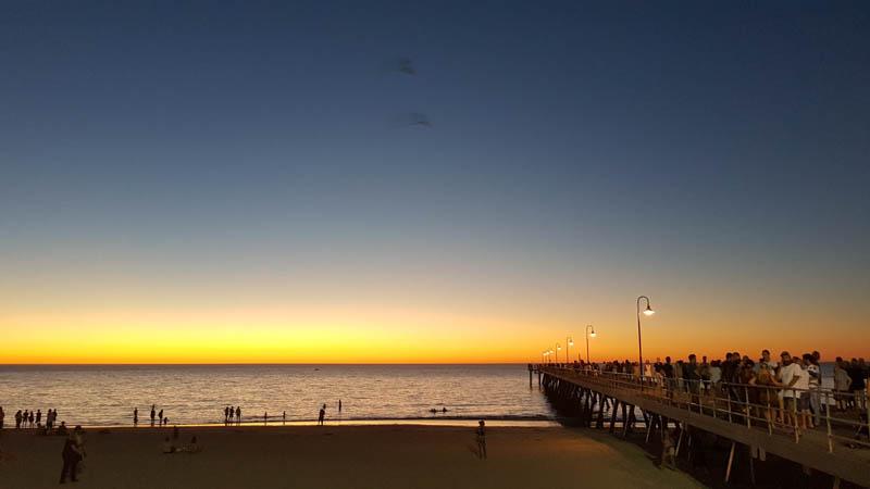 Sunset Adelaide Beaches