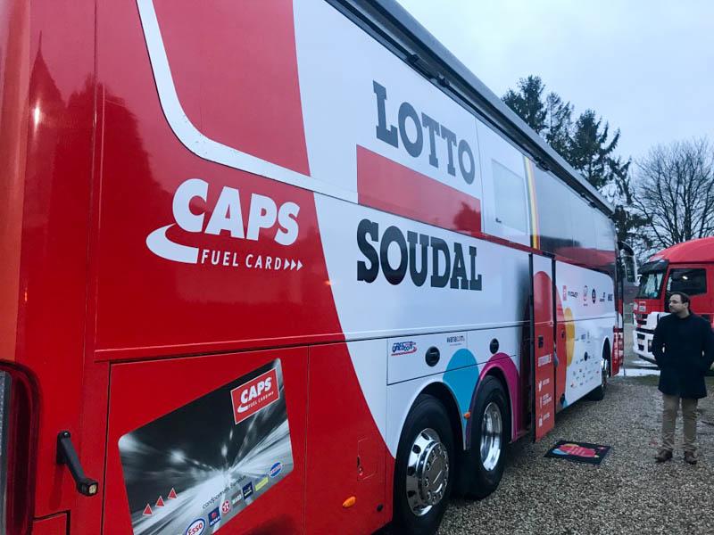 Lotto Soudal Team Bus