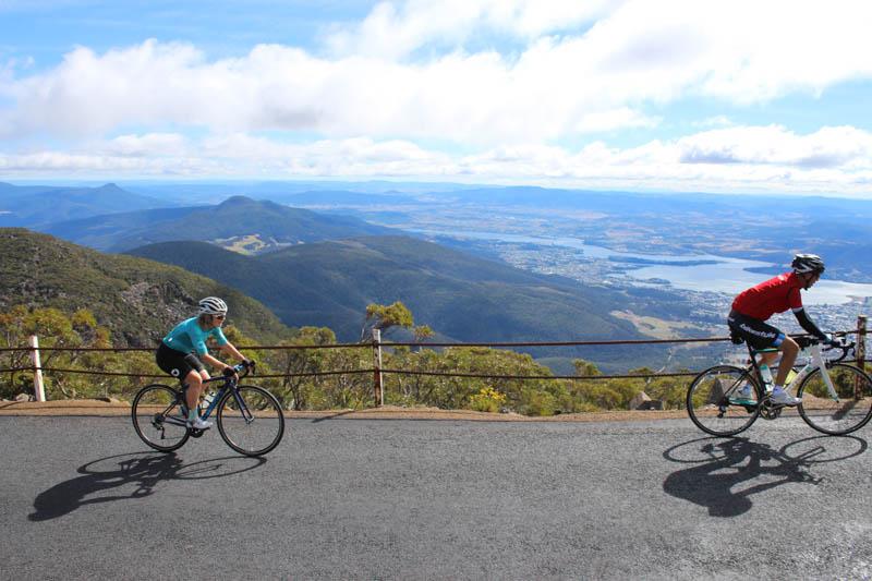 Paul and Jenny Mt Wellington