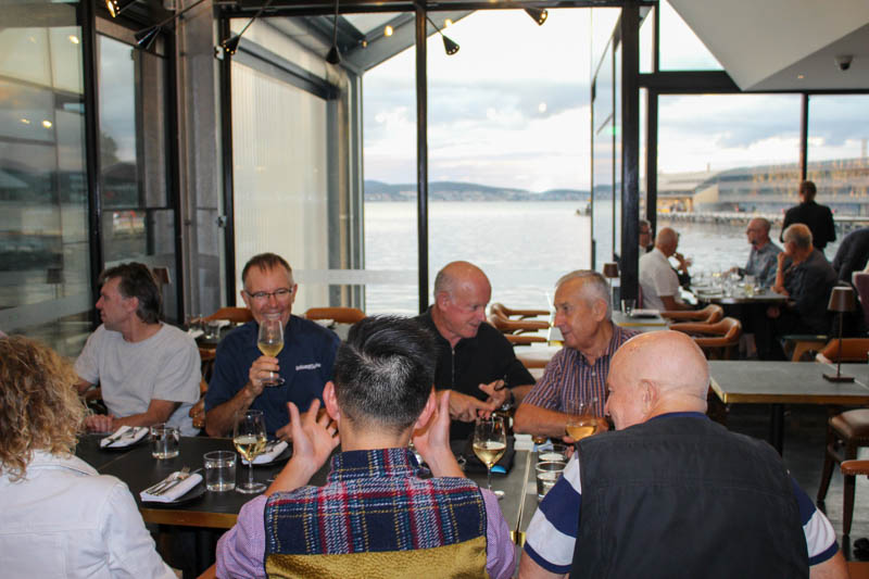 Tasmania Welcome Dinner