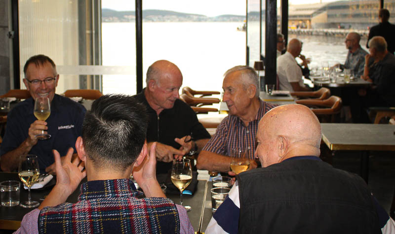 Tasmania Cycling Tour Welcome Dinner