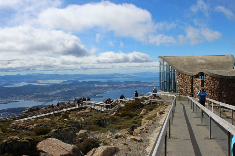 Panoramic View from Mount Wellington