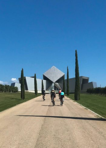 amazing architecture, food and wine, spain cycling holiday